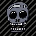 death, halloween, skeleton, skull