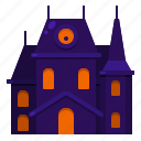 building, haunted, helloween, house icon