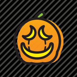 cat, dark, festival, ghost, halloween, head, pumpkin icon