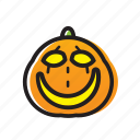 cat, dark, festival, ghost, halloween, head, pumpkin icon