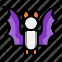 bat, halloween, poultry, vampire, animal