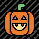 pumpkin, halloween, horror, spooky, scary