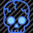 skull, ghost, skeleton, danger, horror, scary, halloween
