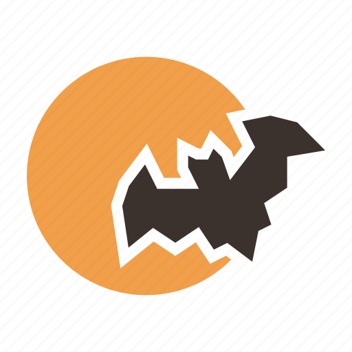 Bat, halloween, horror, moon, night, scary, spooky icon - Download on Iconfinder