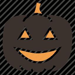 candle, evil, halloween, jack-o-lantern, pumpkin, scary, spooky icon