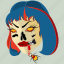 dead, girl, halloween, horror, scary, spooky, zombie icon