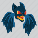 bat, evil, halloween, horror, scary, vampire, zombie icon
