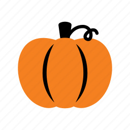autumn, food, fruit, halloween, plant, pumpkin, vegetable icon