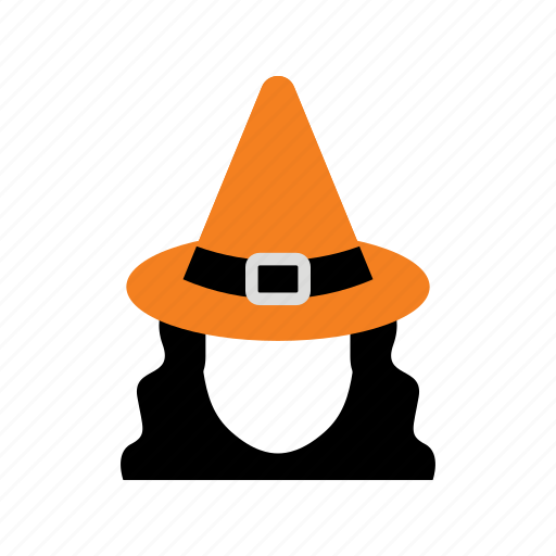 halloween, hat, horror, magic, witch, witchcraft, woman icon