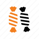 candy, food, halloween, holiday, snack, sweet, trick or treat icon