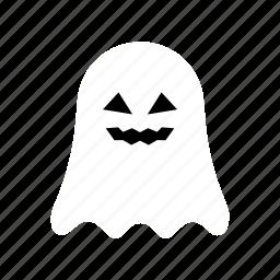 character, ghost, halloween, horror, mystery, phantom, white icon