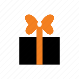 bow, box, gift, halloween, holiday, present, ribbon icon