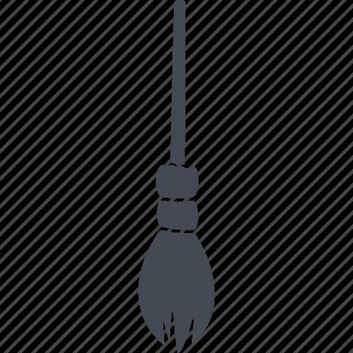 broom, evil, halloween, horror, scary icon