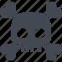halloween, bones, skull, evil, scary