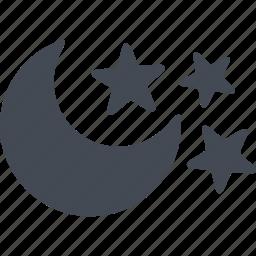 halloween, moon, night, scary icon