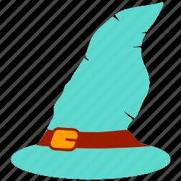 halloween, halloween hat, halloween witch cap icon