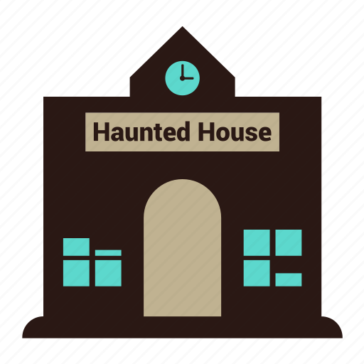 halloween, haunted, horror, house, old, old house icon