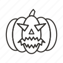 evil, halloween, horror, pumpkin, scary, spooky icon