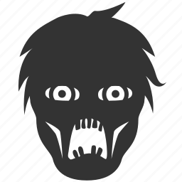 corpse, dead man, ghoul, halloween, horror, scary, zombie icon