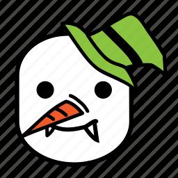 avatar, halloween, man, snow icon