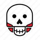 avatar, halloween, skeleton, skull icon