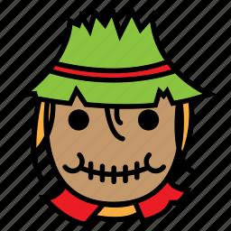 avatar, crow, halloween, scare icon