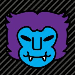 avatar, beast, halloween, mutant icon