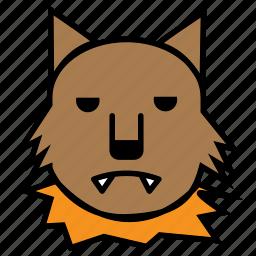 avatar, halloween, wolf, wolfman icon