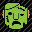 avatar, halloween, scare, zombie