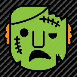 avatar, halloween, scare, zombie icon