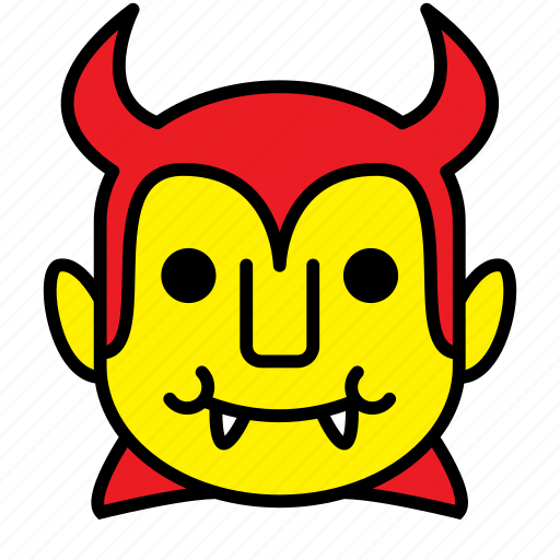 avatar, devil, halloween, vampire icon