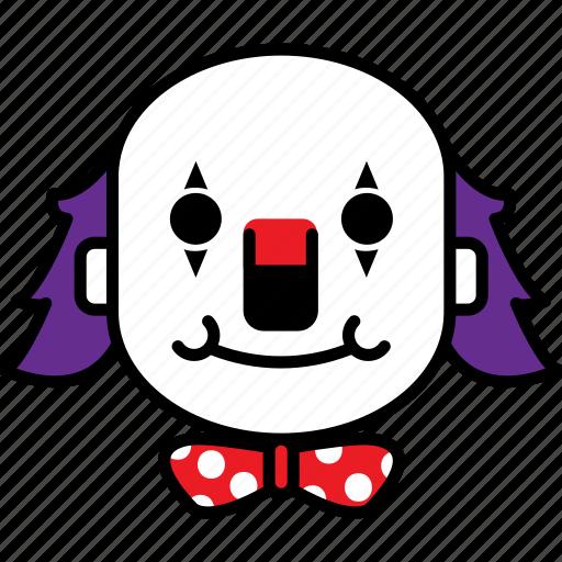 avatar, clown, halloween, scary icon