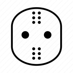avatar, halloween, hockey, mask icon