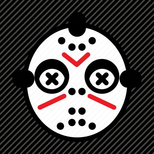 avatar, halloween, jason, mask icon