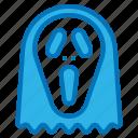 ghost, hallow, halloween, mask, scream icon