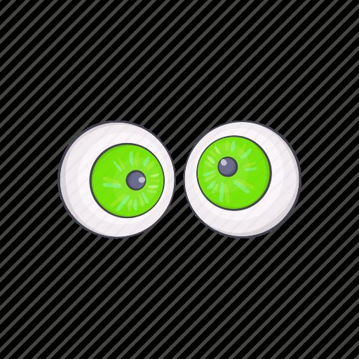 Cartoon, design, eyeball, eyes, halloween, holiday, night icon - Download on Iconfinder