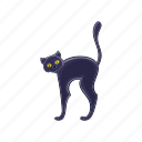 animal, cartoon, cat, cute, halloween, kitty, pet icon