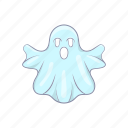 cartoon, costume, design, fun, ghost, halloween, spooky icon