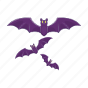 bat, cartoon, halloween, night, spooky, vampire icon