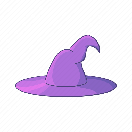 cartoon, clothing, halloween, hat, magic, magical, wizard icon