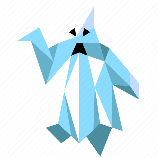 ghost, halloween, holiday, low-poly, scary, spooky icon