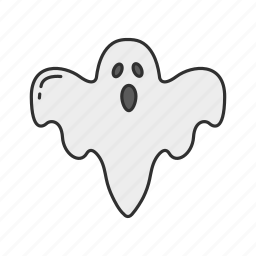 casper, ghost, halloween, monster icon