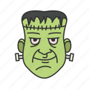 green man, halloween, monster icon