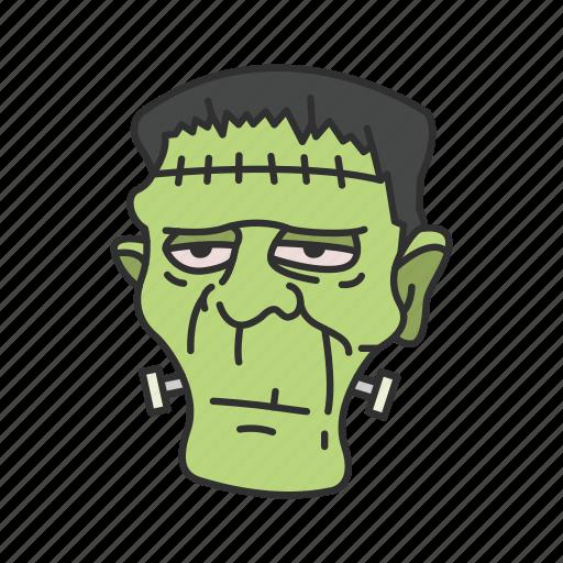 green man, halloween, monster icon