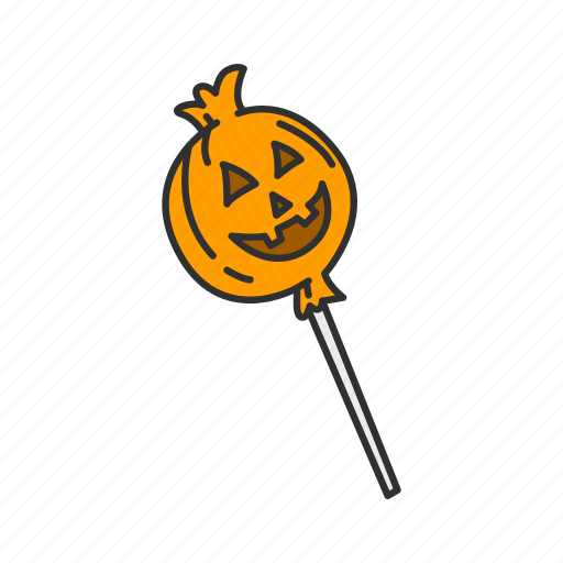 candy, halloween, pumpkin candy, trick or treat icon