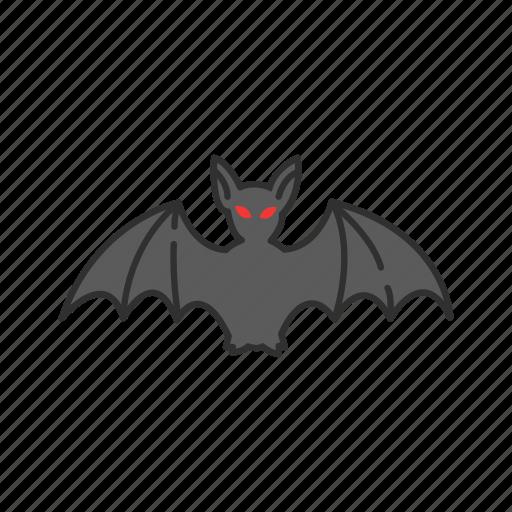 bat, batman, horror, mammals, monster icon