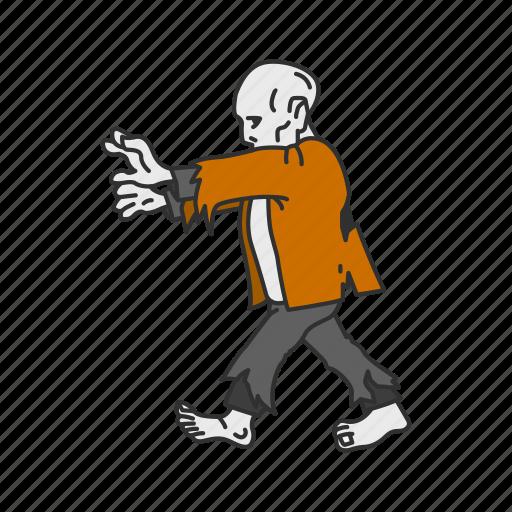 dead man, monster, walking dead, zombie icon