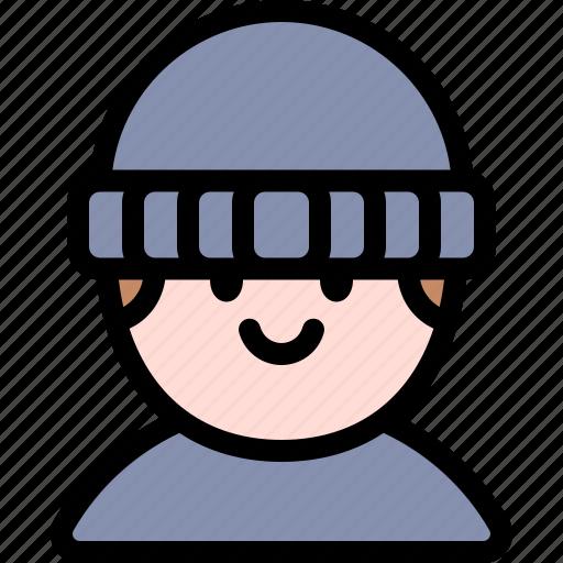 avatar, costume, halloween, october, robber icon