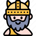 avatar, costume, halloween, october, viking icon