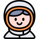 astronaut, avatar, costume, halloween, october icon